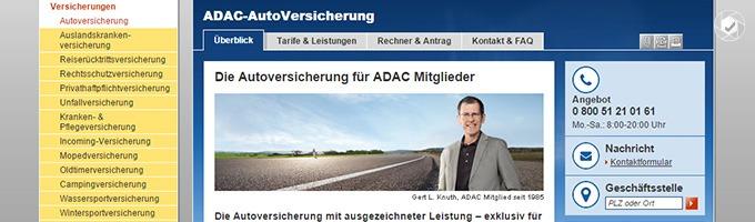 ADAC_KFZ_Versicherung für Mitglieder