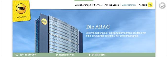 sehr guter ARAG Kundenservice