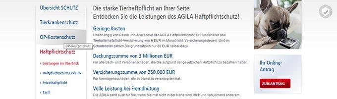 Agila_Hundehaftpflicht Schutz