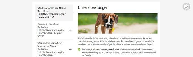 Allianz Hundehaftpflicht