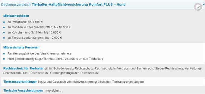 Haftpflichtklasse Darmstadt Haftpflichtversicherung für Hunde Tarife