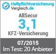 Allsecur Kfz Haftpflichtversicherung Test Erfahrungen 2019