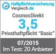 Cosmosdirekt Privathaftpflicht Test Und Erfahrungen