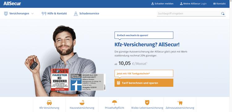AllSecur Autoversicherung Erfahrungen